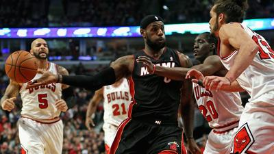 Heat fall to Bulls 95-88, lose third straight