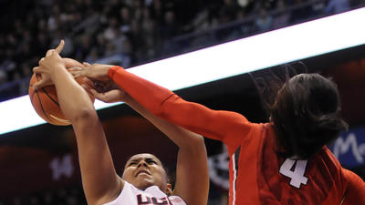 UConn Never Lets Rutgers Into AAC Semifinal