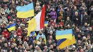 Ukraine leaders vow not to cede land; Russia tightens grip on Crimea