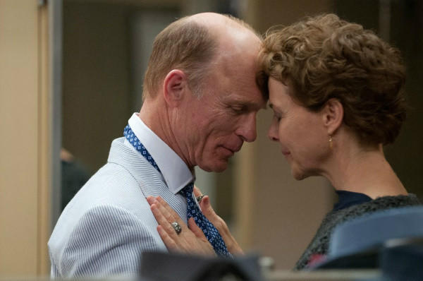 "Ed Harris and Annette Bening in a scene from ""The Face of Love,"" directed by Arie Posin."