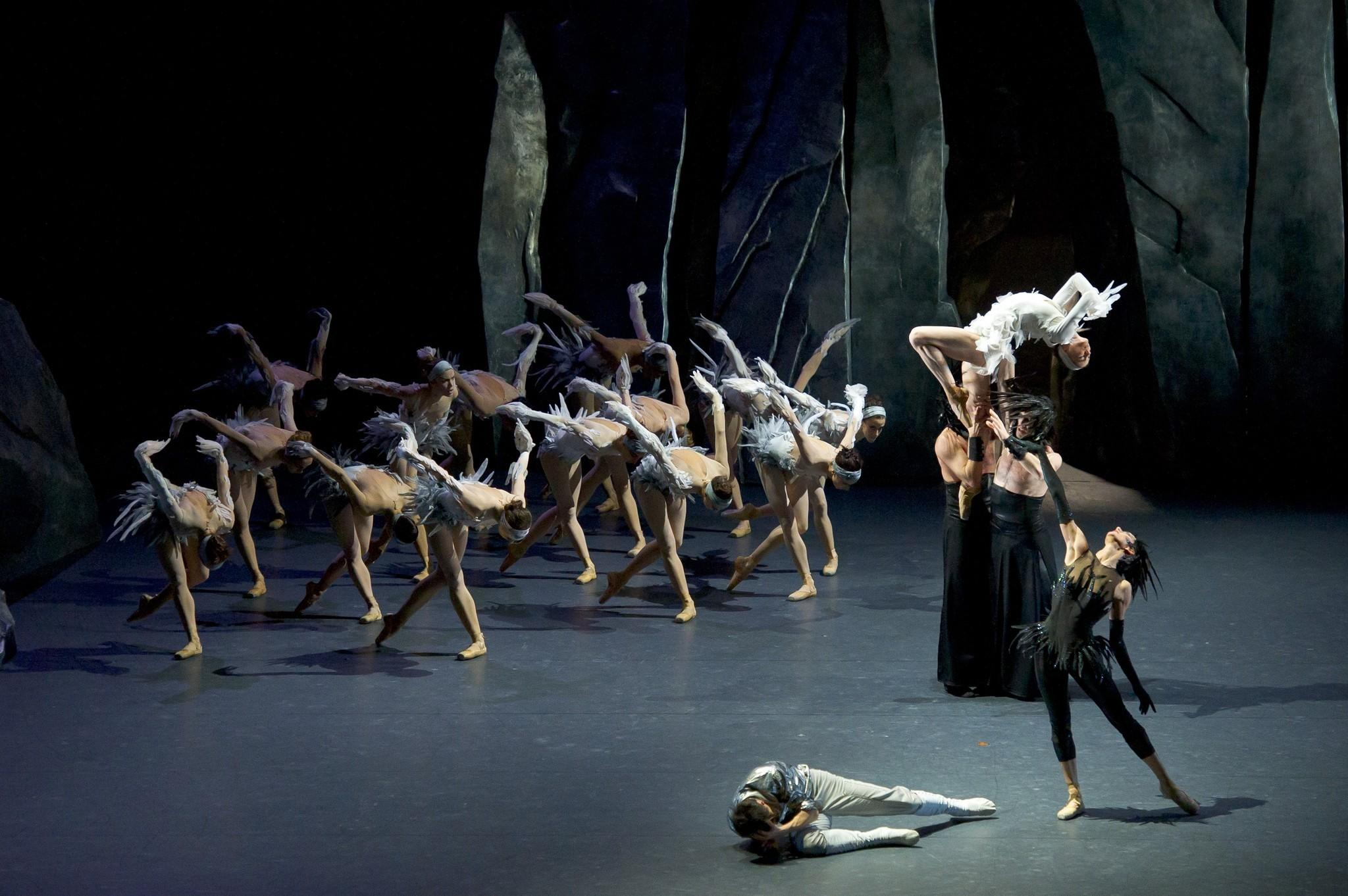 """Les Ballets de Monte-Carlo's production of """"Lac"""" is a tale of infidelity, incest and murder set to Tchaikoksky's music for """"Swan Lake."""""""