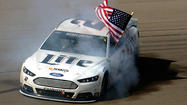 Brad Keselowski wins in Vegas as Dale Earnhardt Jr. runs out of gas