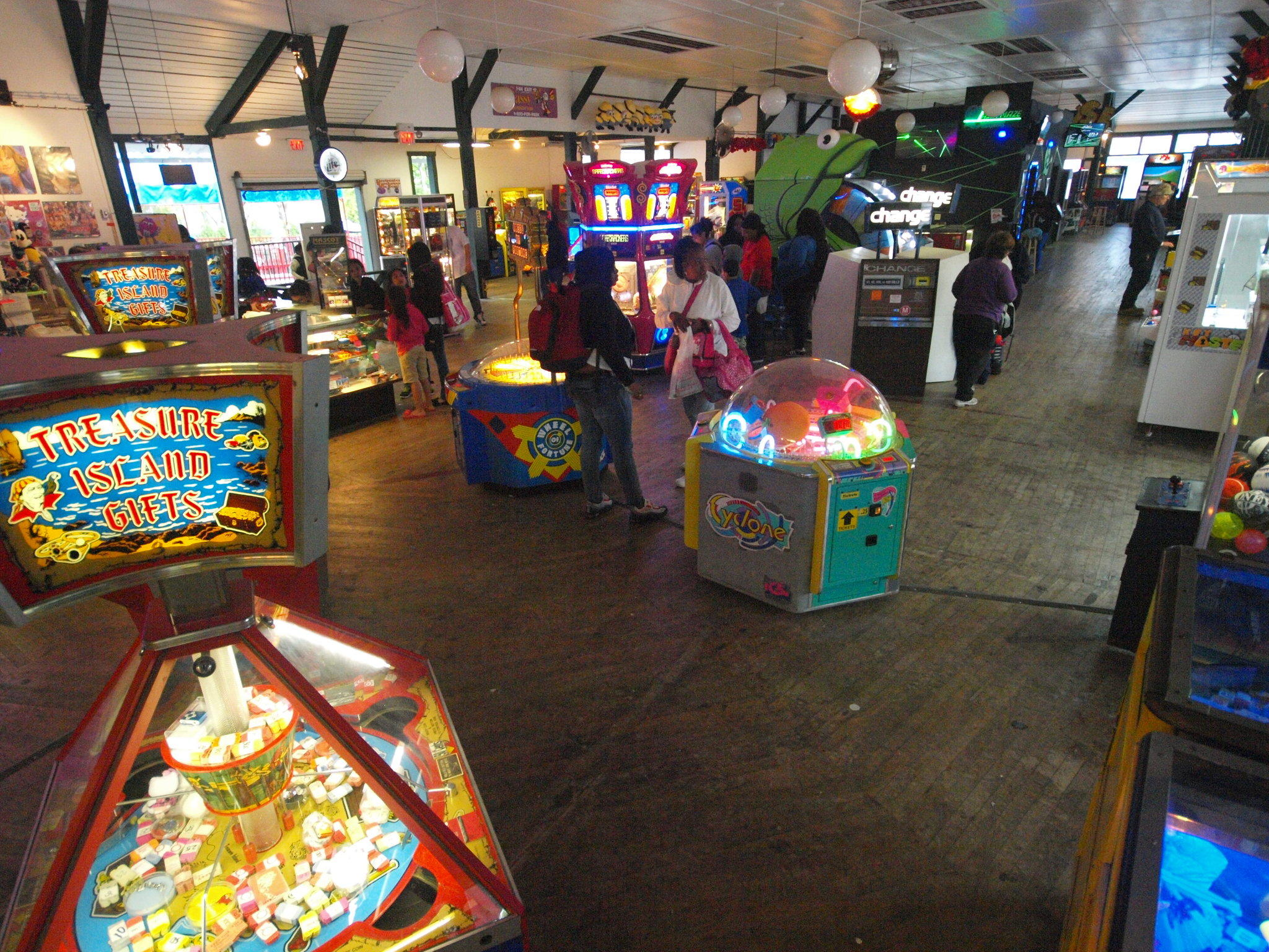 Quassy's huge arcade is going virtually cashless this season with a new state-of-the-art system.