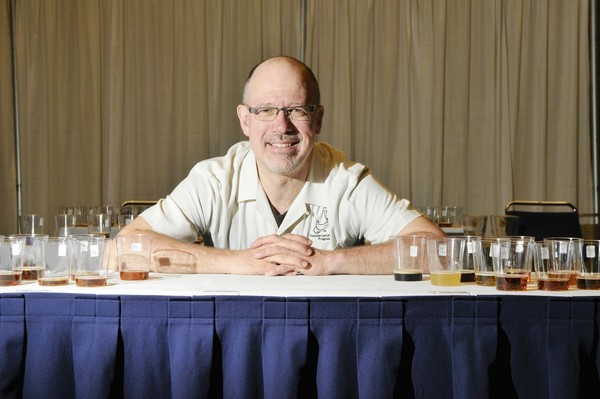 Cicerone Ray Daniels pictured after holding exams for his cicerone program at McCormick Place on Sunday, May 23, 2010, in Chicago. A cicerone is a beer version of a sommelier.