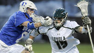 No. 5 Loyola sprints to 14-7 win over No. 6 Duke in men's lacrosse