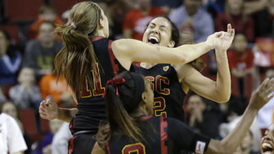 USC women beat Oregon State, 71-62, for Pac-12 tournament title