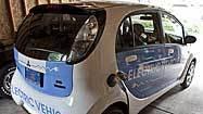 Bring it home, plug it in: Mitsubishi i MiEV electric car