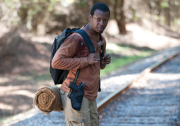 Bob Stookey (Lawrence Gilliard Jr.) is on the hunt for his next bottle of night time relief medicine