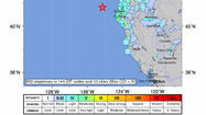 6.9 Northern California earthquake followed by aftershocks