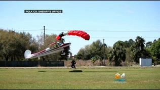 Video: Skydiver, Pilot treated after midair accident