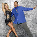Emma Slater and Billy Dee Williams