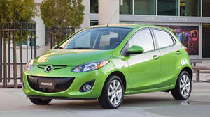 2011 Mazda2 is an entry-level blast