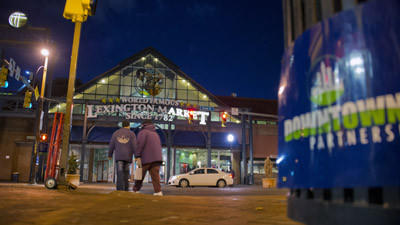 Baltimore, merchants seek relief for a beleaguered Lexington Market