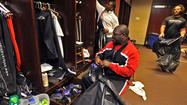 Ravens clean out their lockers [Pictures]