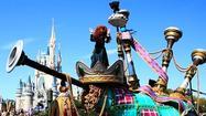 Debut of Magic Kingdom's Festival of Fantasy parade at Disney World