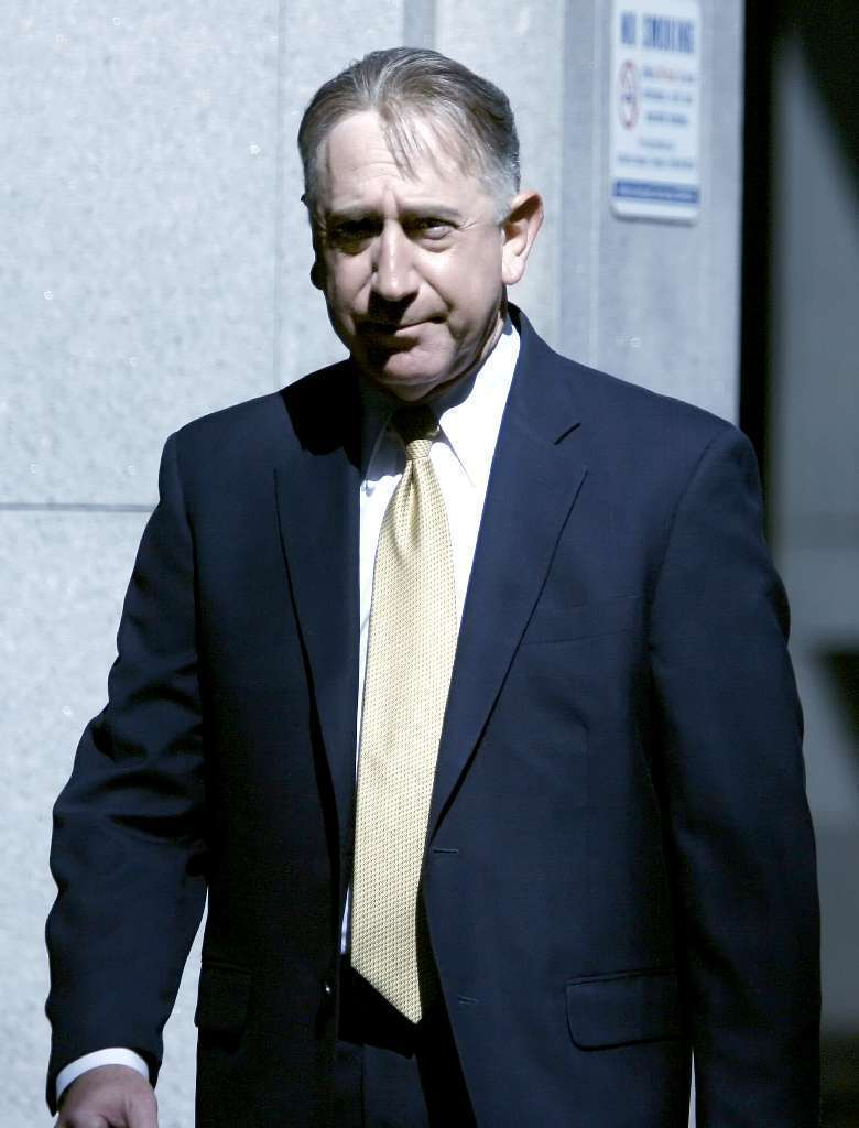 File Photo: Former Glendale Councilman John Drayman arrives to be arraigned in May 2012 at the C. S. Foltz Criminal Justice Center in Los Angeles. Los Angeles Superior Court Judge Stephen A. Marcus rejected a second plea deal from Drayman in a downtown courtroom on Monday, March 10, 2014. Drayman allegedly embezzled at least $304,000 from Montrose farmers market.