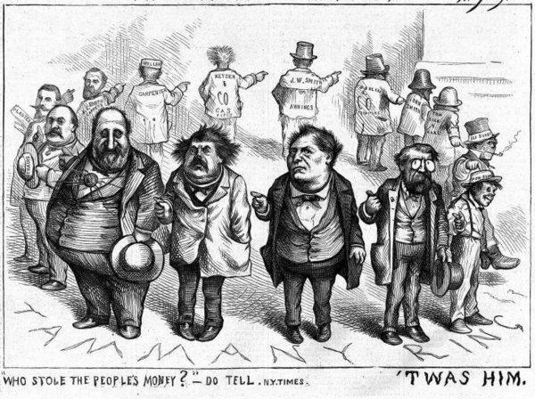 A Thomas Nast cartoon from 1871. Not much has changed in 143 years.