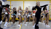 Ravens Cheerleader tryouts [Video]