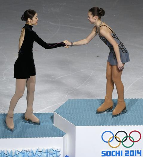 Figure skating dating each other