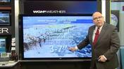 Video: High of 56 today; 3-7 inches of snowfall tomor
