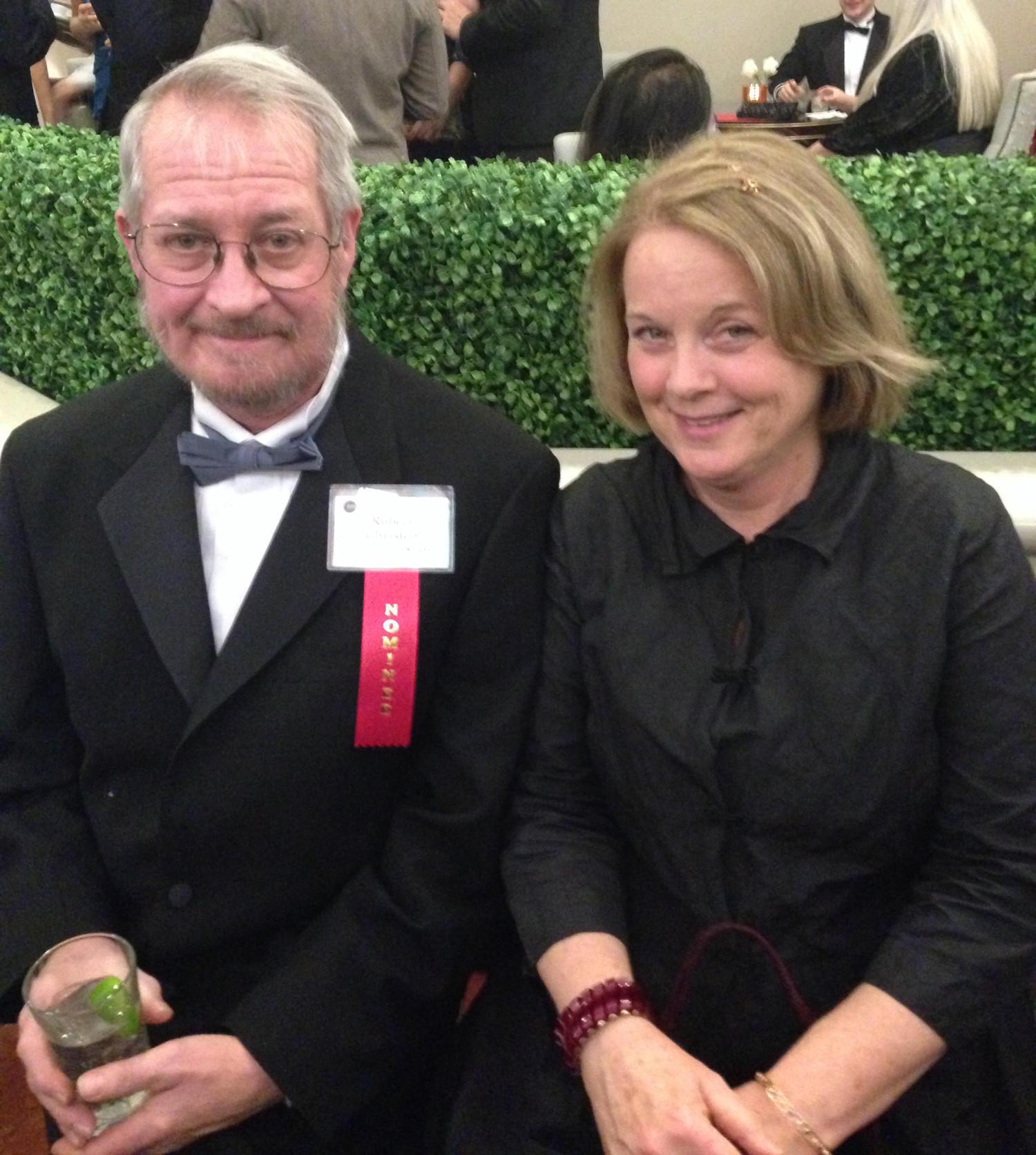 Robert Christen and his wife, Jan Watson