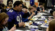 Conowingo students 'Play 60' with Ravens' Haloti Ngata [Video]