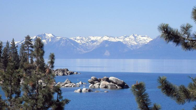 The view of Lake Tahoe from historic Thunderbird Lodge on the eastern shore in Nevada. (McClatchy-Tribune)