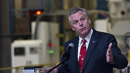 Video: Gov. McAuliffe announces grant for Windsor soybean processing facility