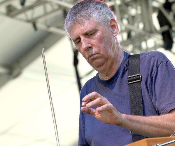 Greg Ginn of Black Flag, performing at Coachella with his project the Royal We.