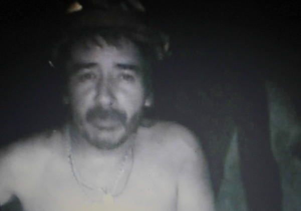 A frame grab shows Victor Segovia, one of the 33 miners trapped