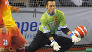 Goaltender William Vanzela is a key find for the Blast