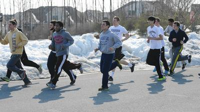 L.V. sports seasons on hold until a spring thaw