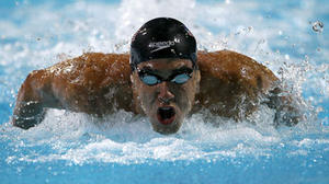 Tee times, not London, keeping Phelps busy