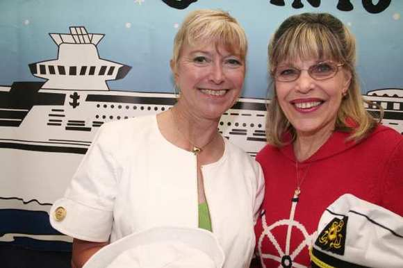 """Cruising into Summer"" are, from left, Event Chairwoman Sue Wilder and Director of Volunteer Services Judy Hurst."