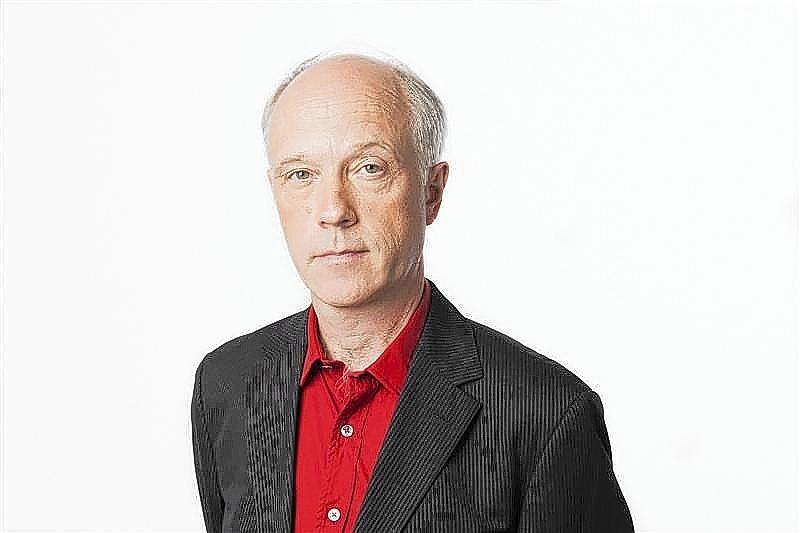 Swedish journalist Nils Horner is pictured in Stockholm.
