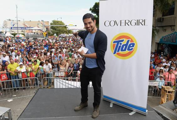 Celeb-spotting around South Florida - Wilmer Valderrama at Calle Ocho