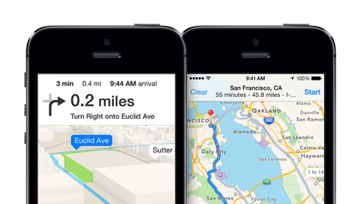 Expect better Apple Maps navigation app in iOS 8, report says