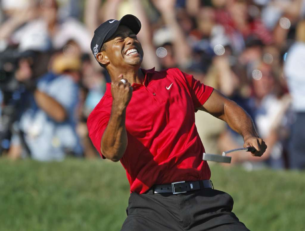 The last time Tiger Woods won a major, it was at Torrey Pines.