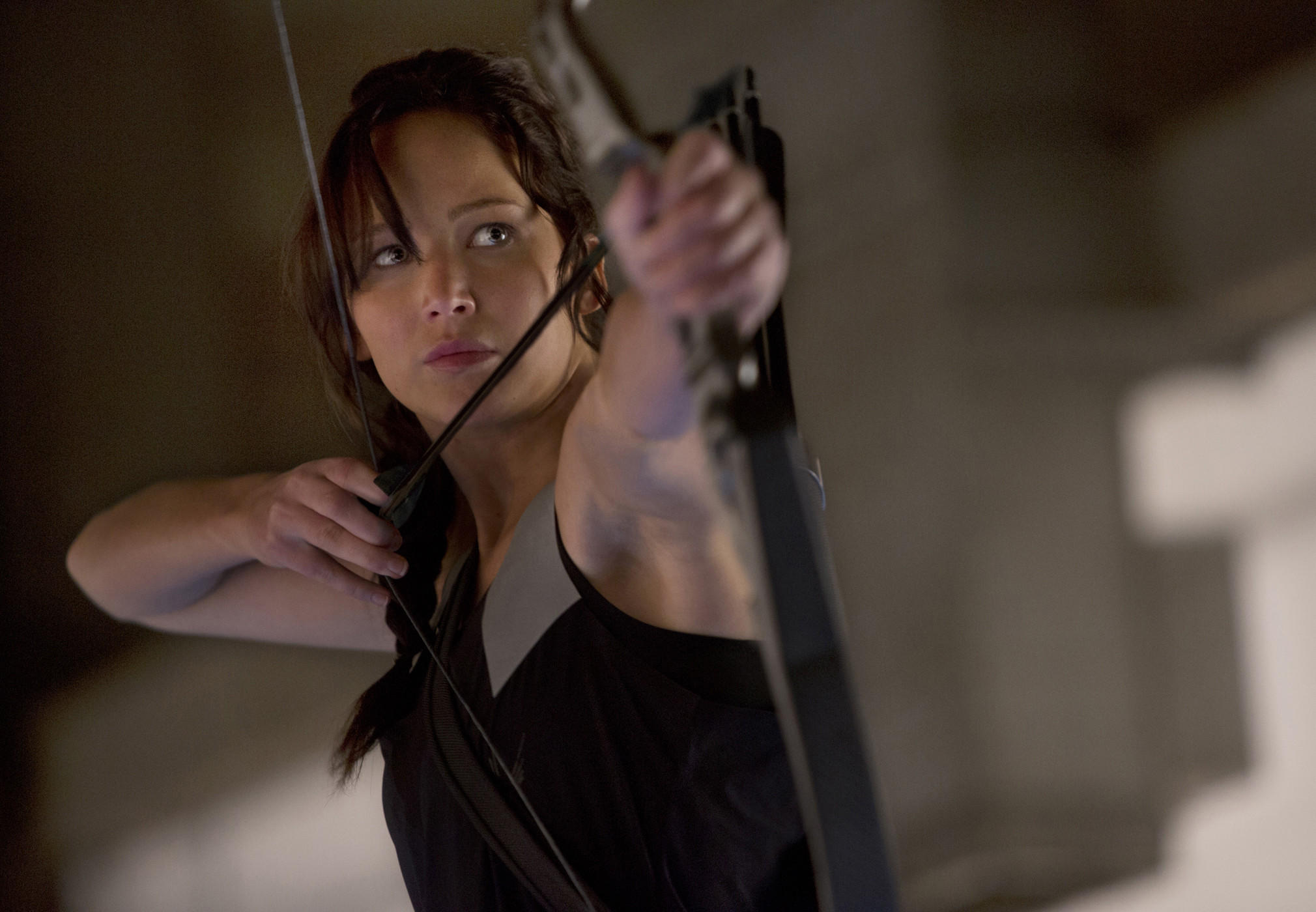 "Jennifer Lawrence stars as Katniss Everdeen in the 2013 blockbuster ""The Hunger Games: Catching Fire."" She's a rare heroine: A new report, released by San Diego State University professor Martha Lauzen, finds women constituted only 15% of protagonists in the 100 top-grossing films of last year."