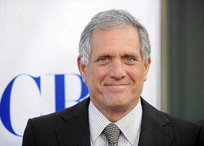 """CBS Presidetnt and CEO Leslie Moonves arrives for a special screening of CBS' new comedies during a celebration of """"National TV Dinner Day,"""" in Los Angeles in September."""
