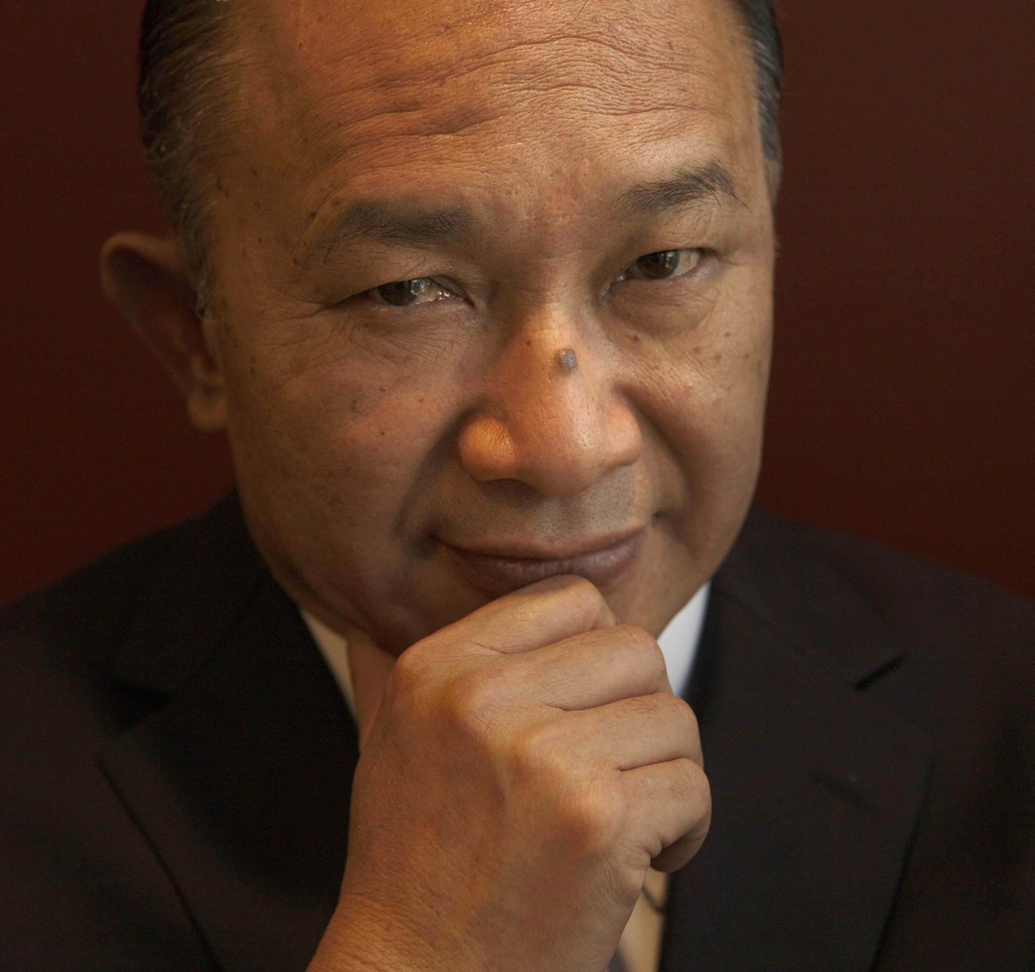 John Woo will helm the jury at the Beijing International Film Festival.