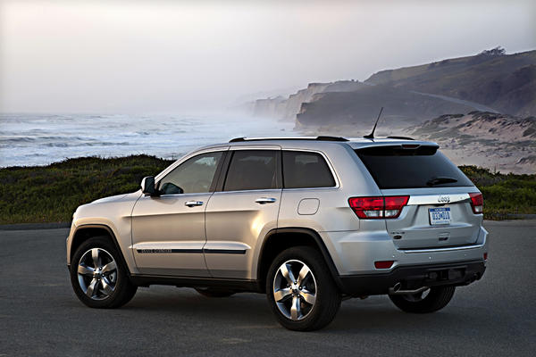 Chrysler is recalling nearly 37,000 vehicles in the U.S., including the 2013 Jeep Grand Cherokee, above.