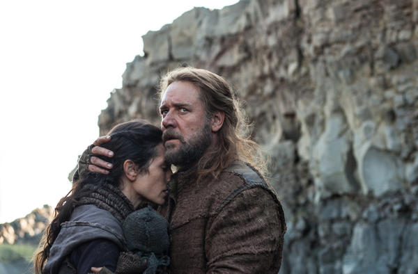 "Jennifer Connelly and Russell Crowe in ""Noah."""