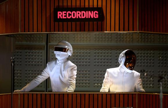 Did Daft Punk record a track with Jay Z?