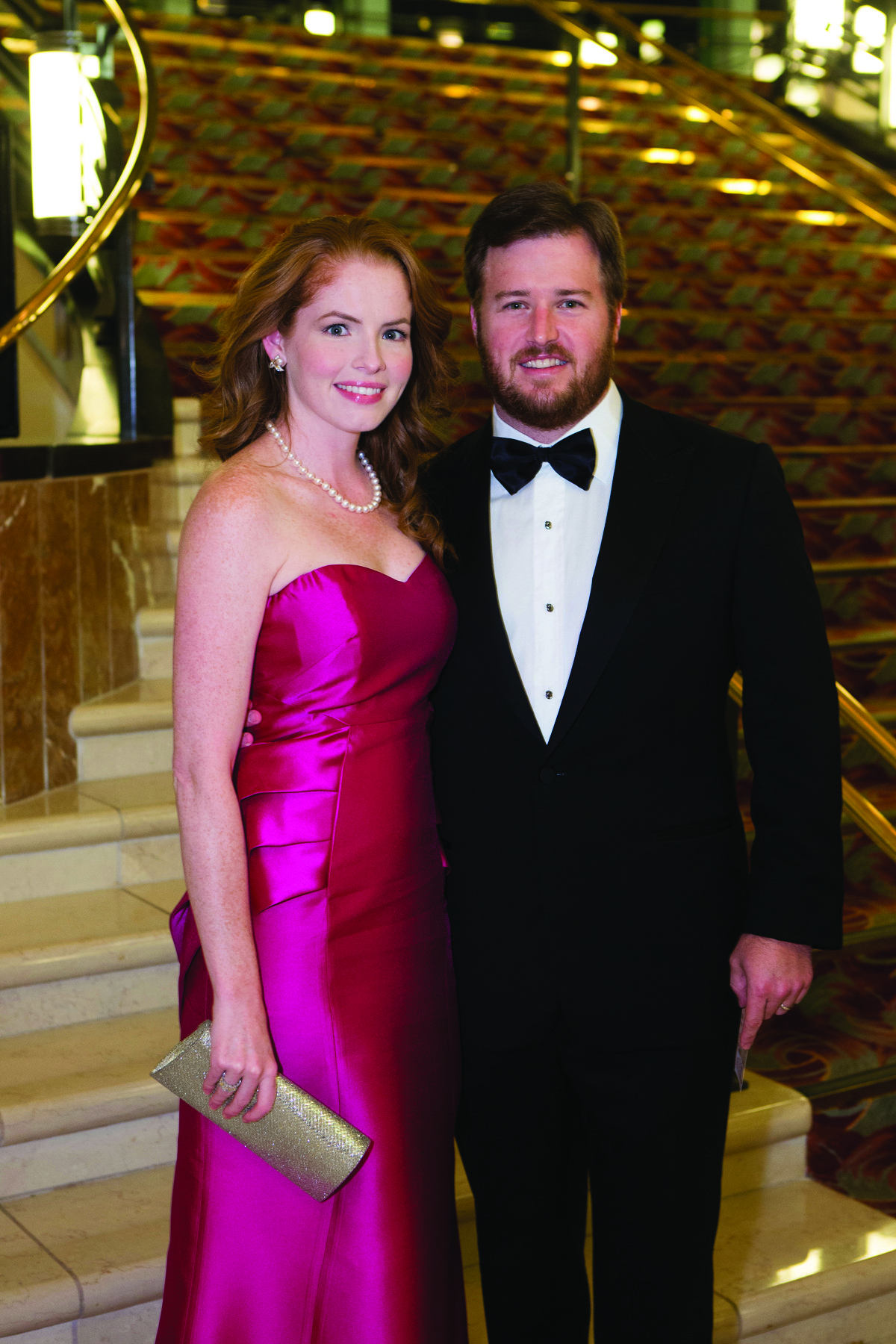 Society Scene photos - Tara Vecellio, left, and Christopher Vecellio support the Raymond F. Kravis Center for the Performing Arts at its annual black-tie gala, which featured an evening of dancing and dining.