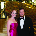Tara Vecellio, left, and Christopher Vecellio support the Raymond F. Kravis Center for the Performing Arts at its annual black-tie gala, which featured an evening of dancing and dining.