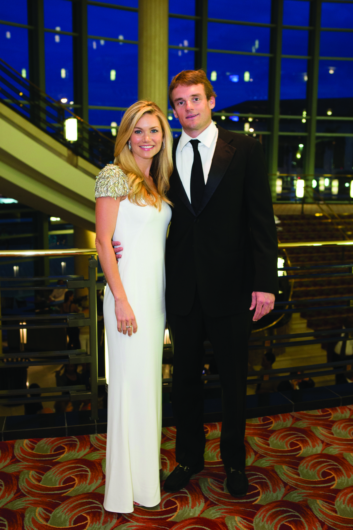 Society Scene photos - Cameron Preston, left, and Jeffery Preston enjoyed a red carpet runway in the lobby and cocktail reception at the Raymond F. Kravis Center for the Performing Arts