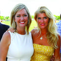 "Pam Phillips, left, and Melisa Hormung came out to support the Caridad Center for its recent ""Champagne, Hors d'oeuvres and Polo"" reception at the International Polo Club."