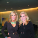 "Beth Pine, left, and Trisha Keitel were among the more than 300 guests to attend Johns Hopkins Medicine's sixth annual ""A Woman's Journey"" health conference and luncheon, which recently took place at the Palm Beach County Convention Center."