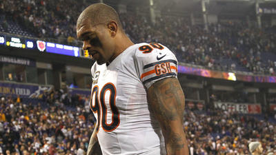Bears release Peppers in salary cap move